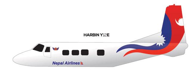 Airline Livery Design by Biswas Pokhrel