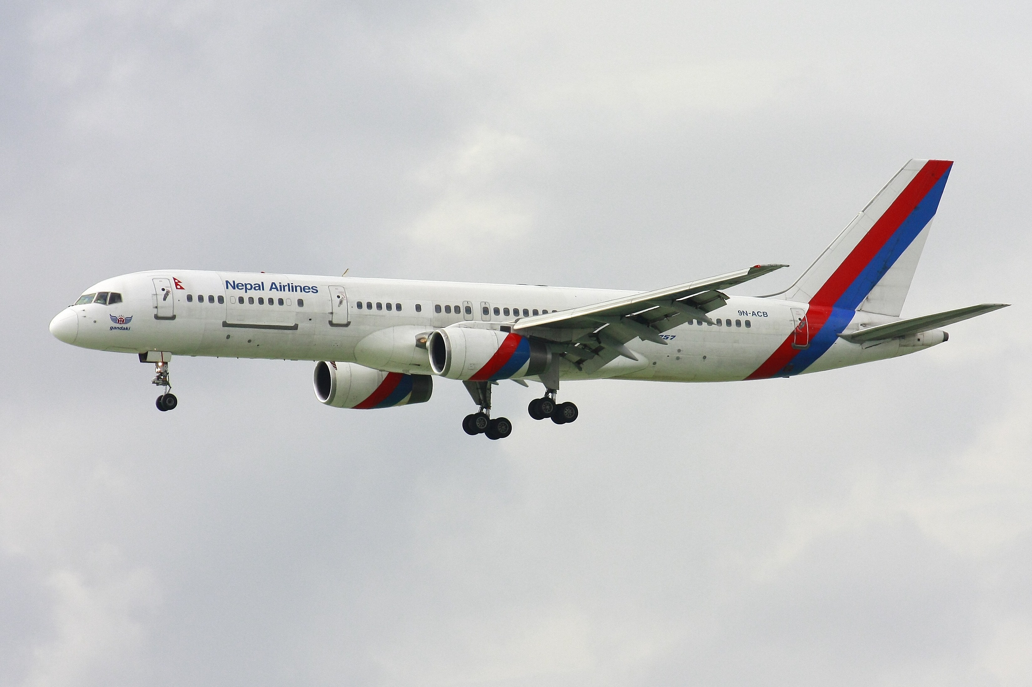 Nepal Airlines B757