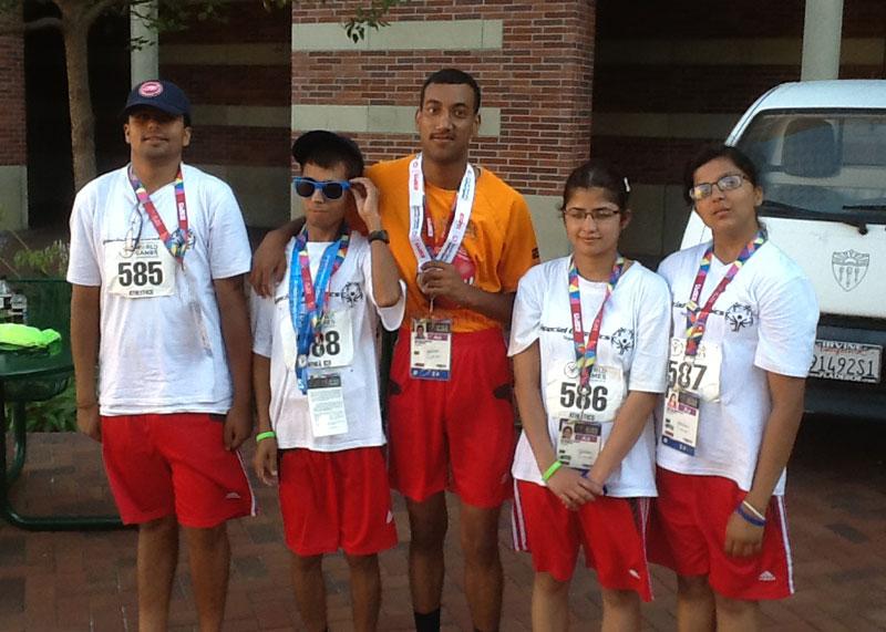 Nepal-Team-Special-Olympics-2015-California