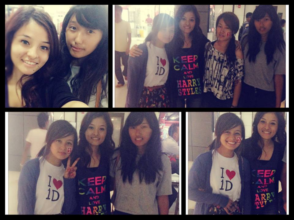 Nepalese Directioners at the screening of One Direction: This Is Us. Photo from: One Direction to Nepal Facebook Page
