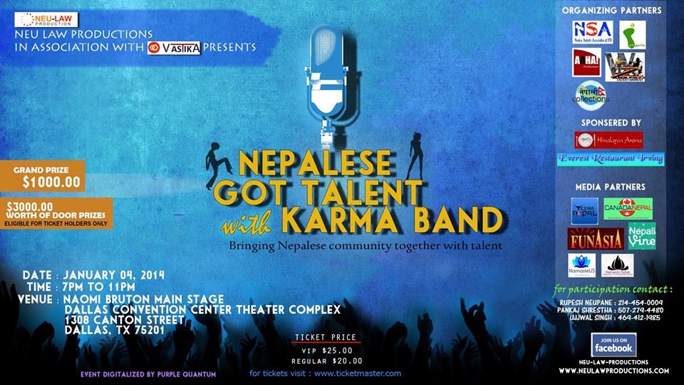 Nepalese Got Talent Dallas