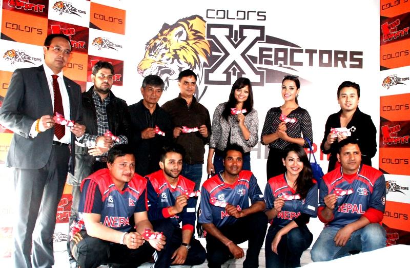 """Wear The Spirit"" - Flag Day campaign launch event.  Photo: CricketLok.com"