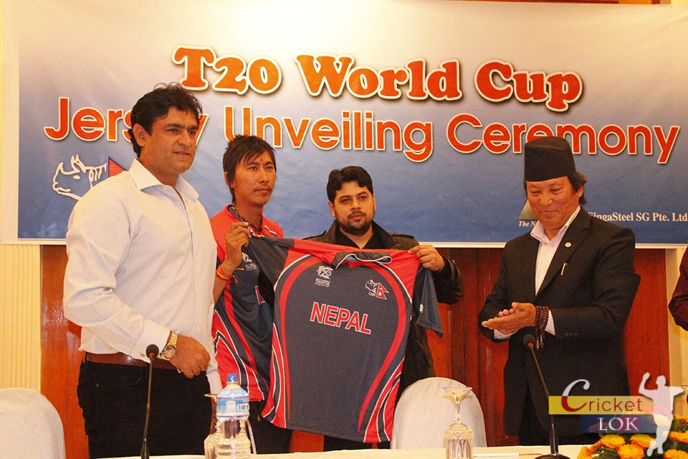 T20 World Cup Jersey Unveiling Ceremony