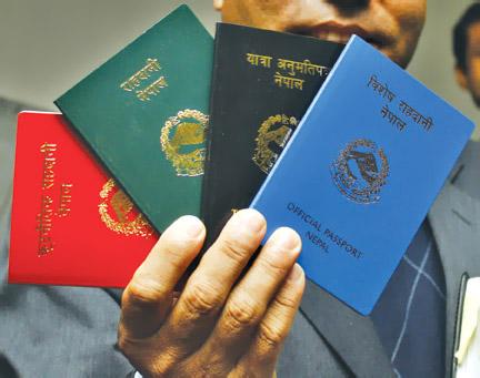 Nepali-Passport