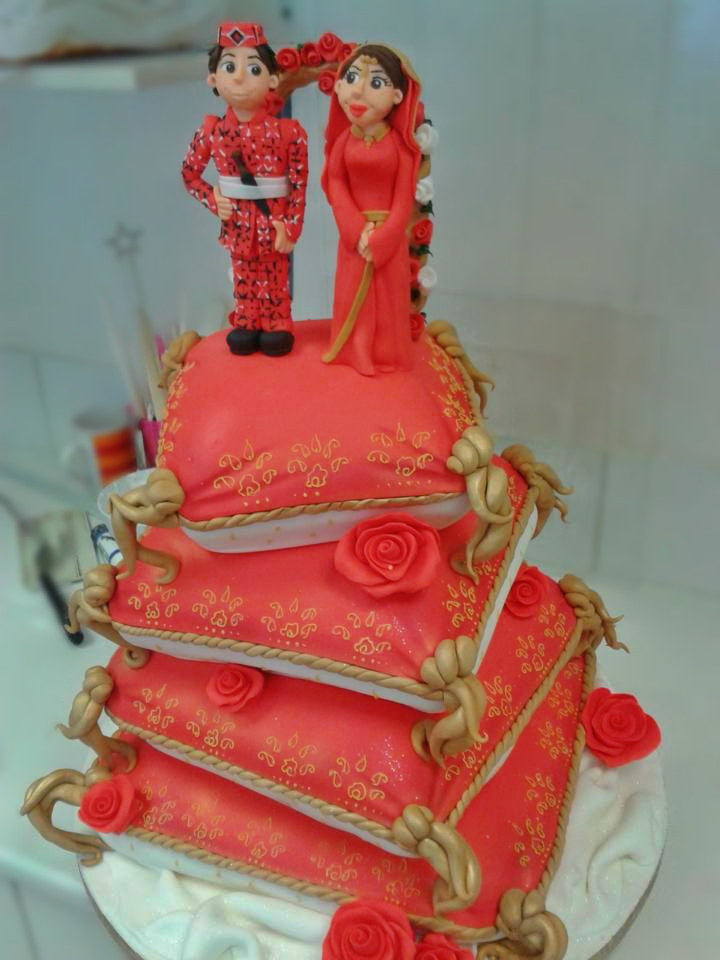 Nepali Wedding Cake