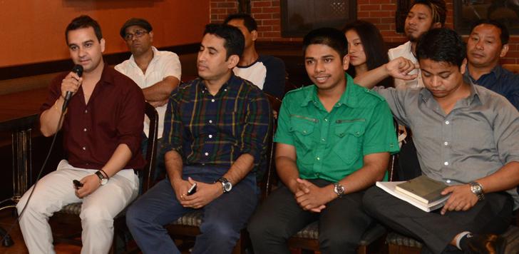 Kishor Panthi ( Editor in chief of Khasokhas Weekly and Board of Director of Lumbini International Inc)