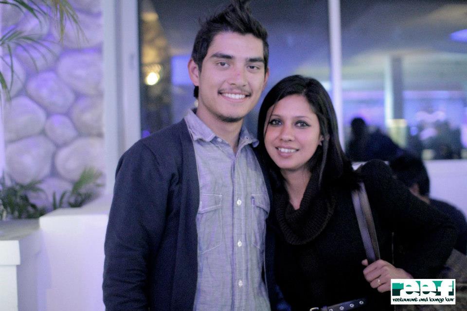 CHHADKE's Nikun Shrestha with friend