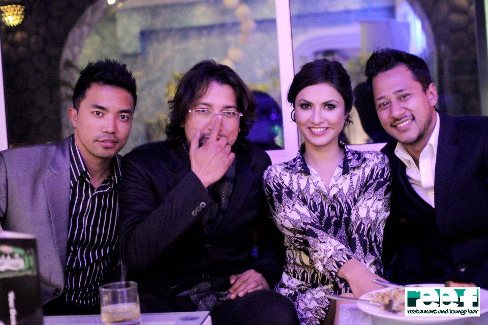 Manchin Shakya, Raymon Das Shrestha, Nisha Adhikari and Rabin Shrestha
