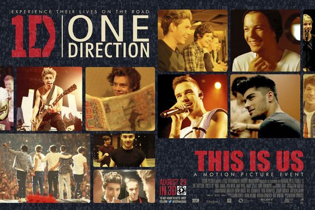 One Direction Where We Are Poster