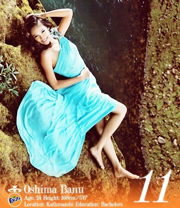 Oshima Banu Miss Nepal 2013