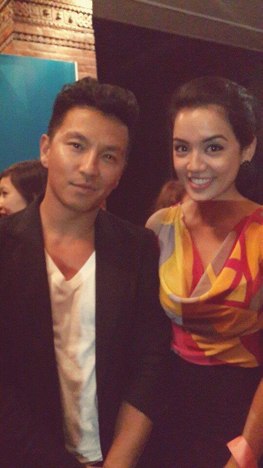 Prabal Gurung with former Miss Nepal Sadichha Shrestha.