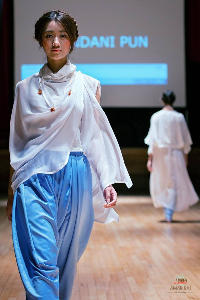 Designer: Chandani Pun Model: Shristi