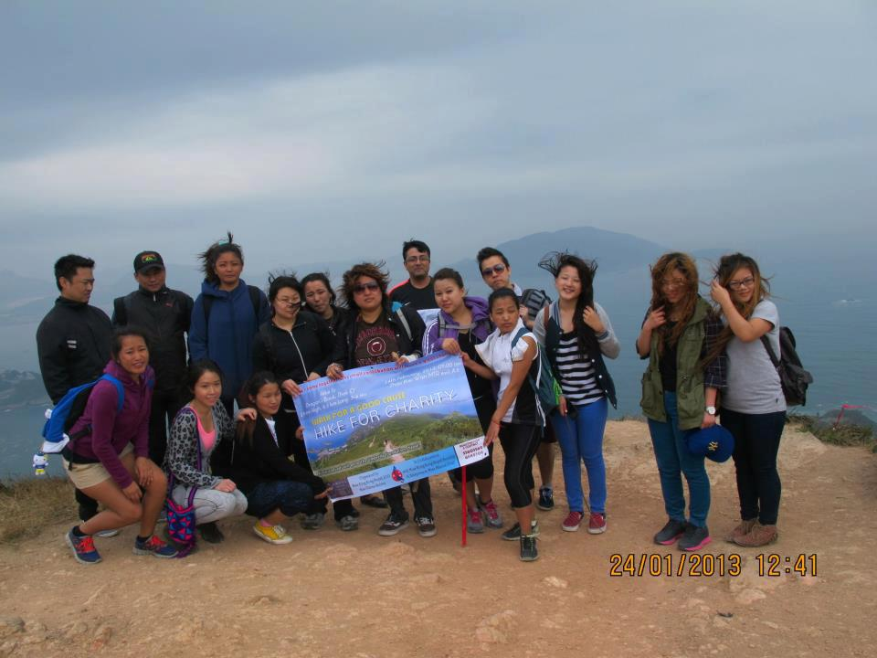 Charity Hike to support The Umbrella Foundation