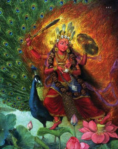 Goddess Kumari by Uday Charan Shrestha