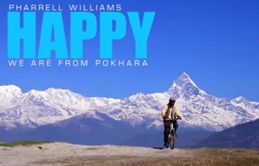 Pharrell-Williams-HAPPY-Pokhara