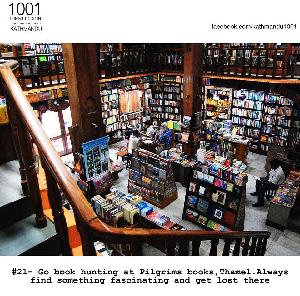 I love book shops and Pilgrims is no exception.