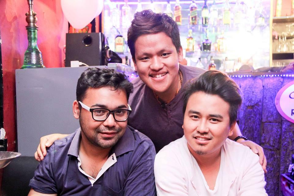 DJ Lemon Karmacharya, Hrishant Bipashwa Rai and Tenzin Tseten Bhutia