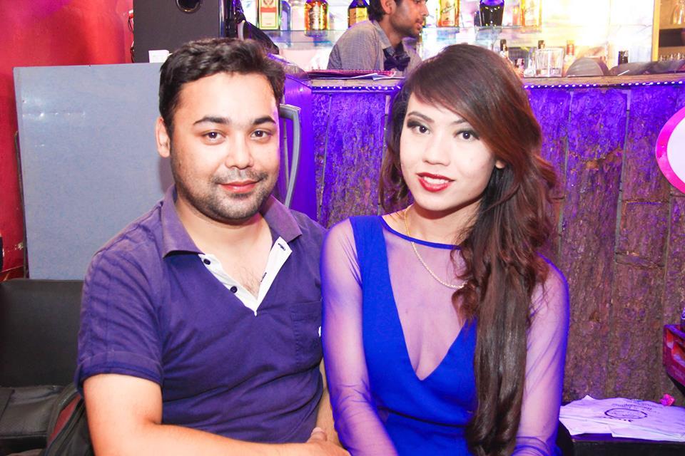 DJ Lemon Karmacharya and Meghna