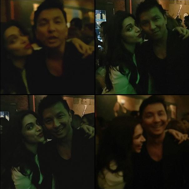 PG at SRK'S Birthday bash with Deepika Padukone. Instagram: prabalgurung