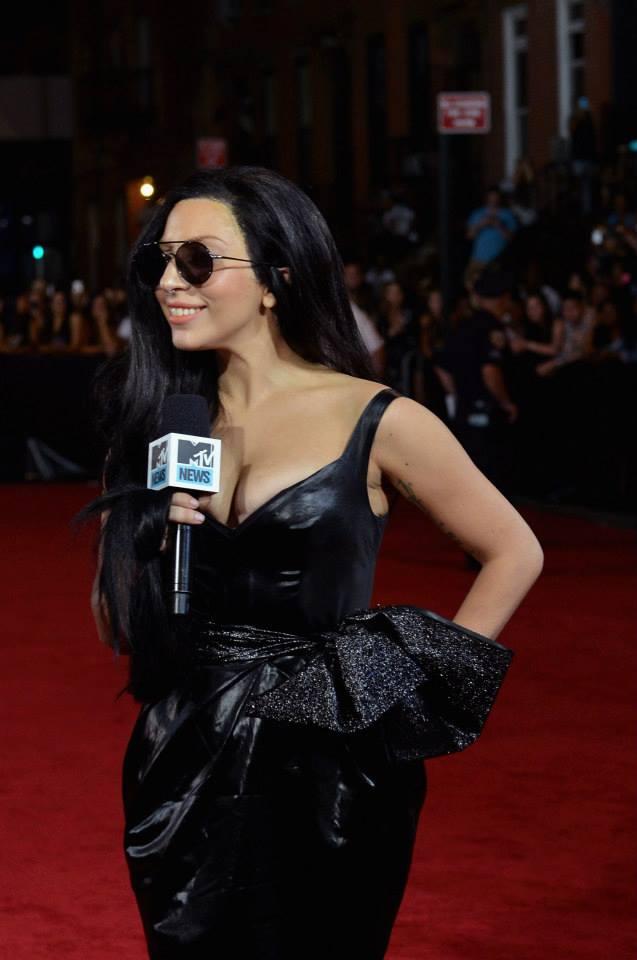 Lady Gaga Wearing Prabal Gurung, MTV VMA 2013