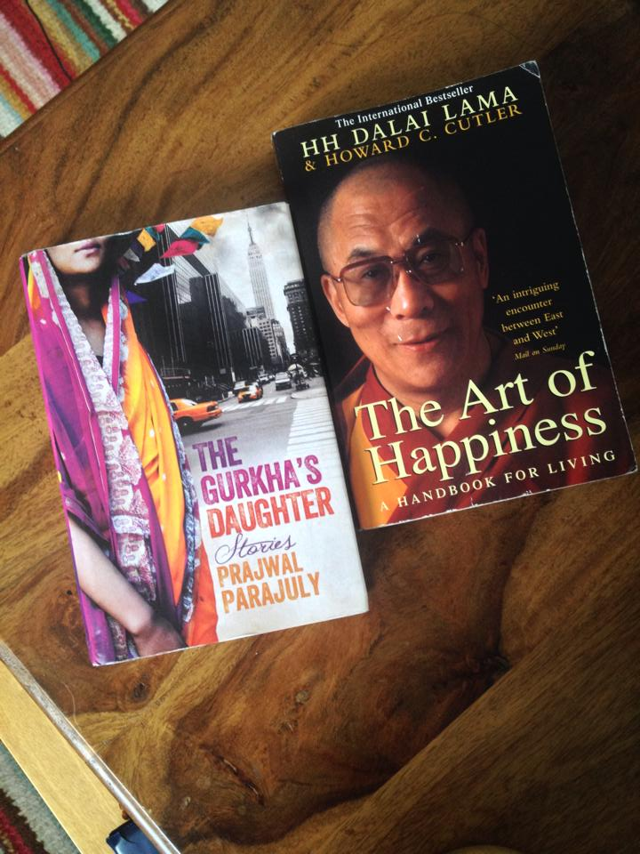 The Gurkha's Daughter & The Art of Happiness