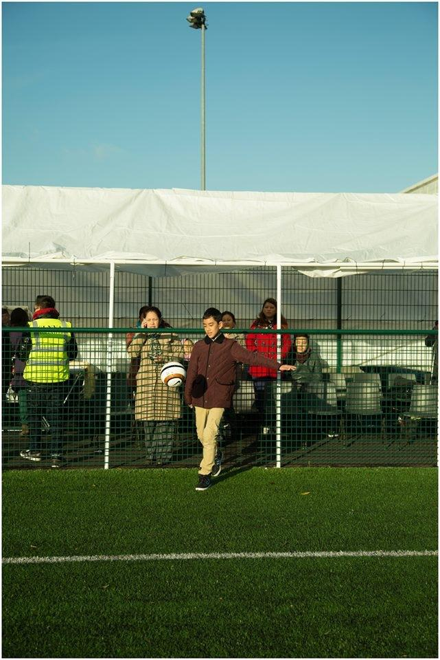 Kicking off the event - Prayas Gurung.
