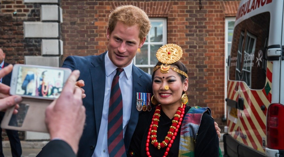 Prince-Harry-Nepali-Woman