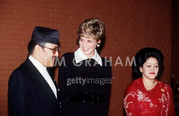 Princess-Diana-in-Nepal-Royal-Family