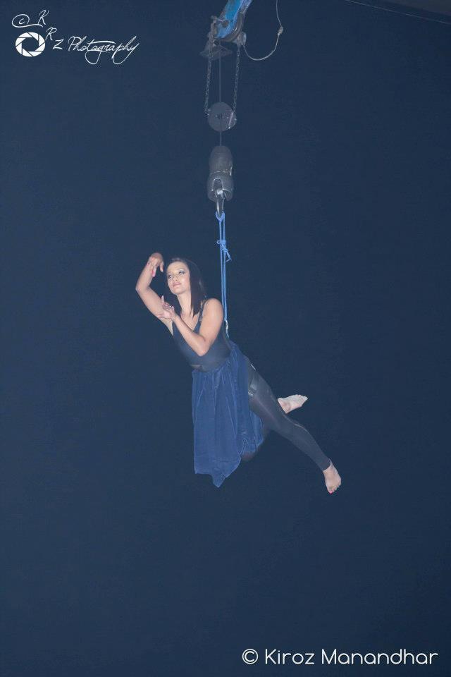 Flying high...