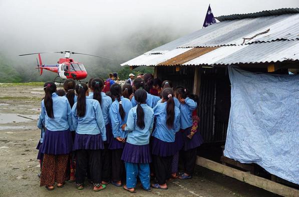 I love this photo. (Ripchet School, Gorkha)
