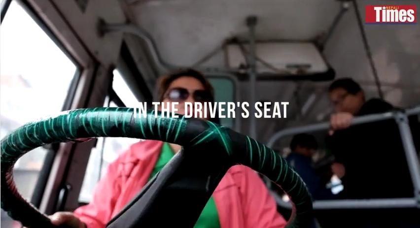 Rebika-Thapa-Sajha-Bus-Driver