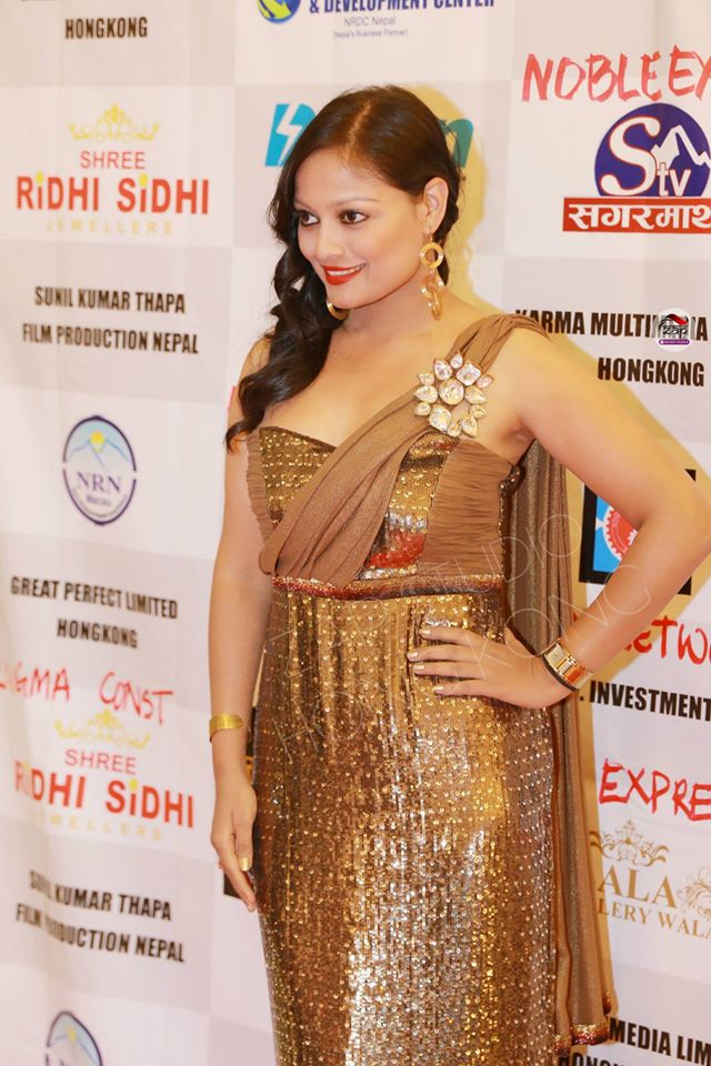 Reecha on the red carpet! Photo: ZapStudio