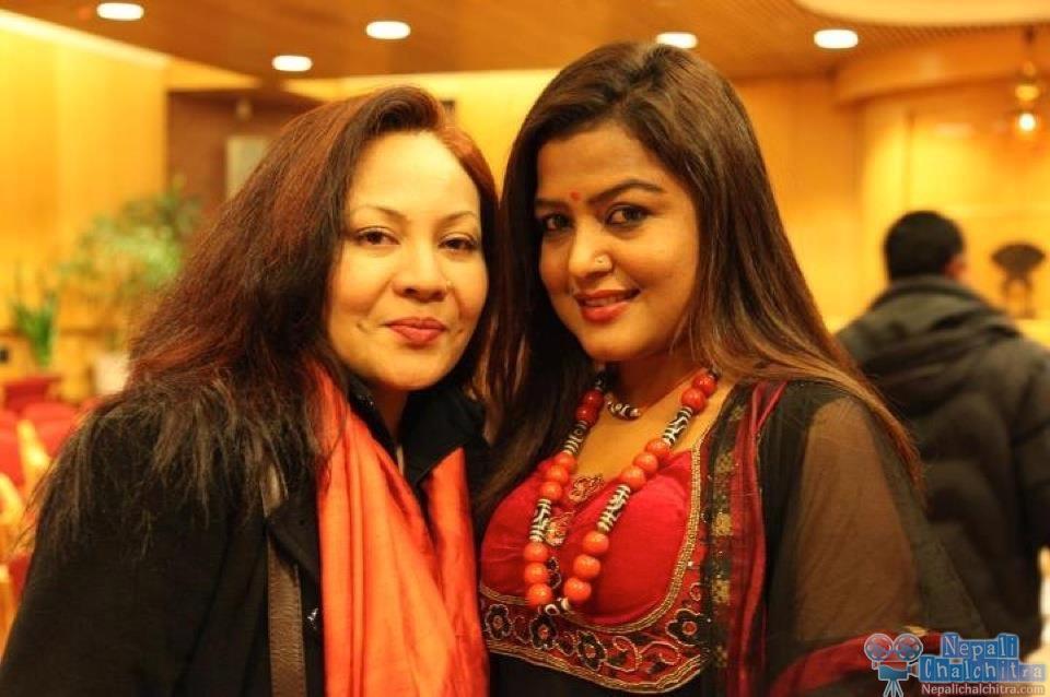 Rekha Thapa and Gauri Malla