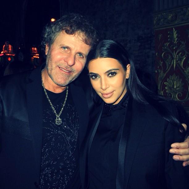 Renzo with Kim Kardashian