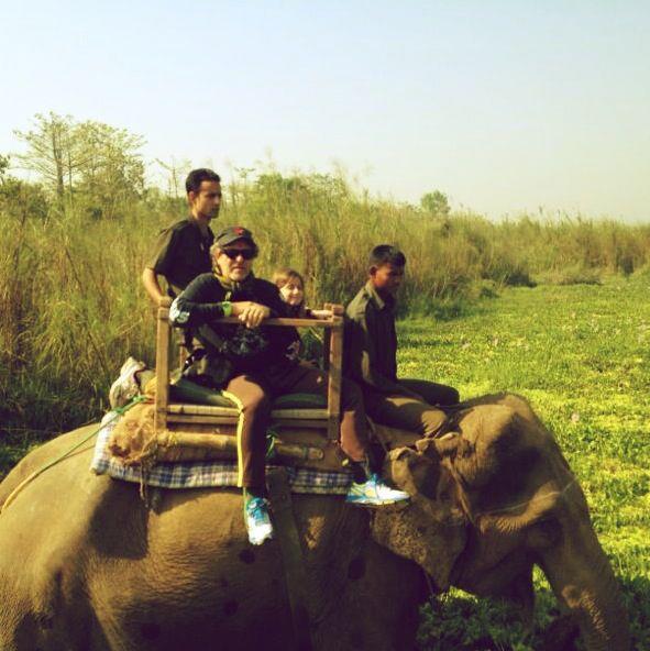 Taken in Chitwan