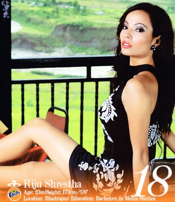 Riju Shrestha Miss Nepal 2013