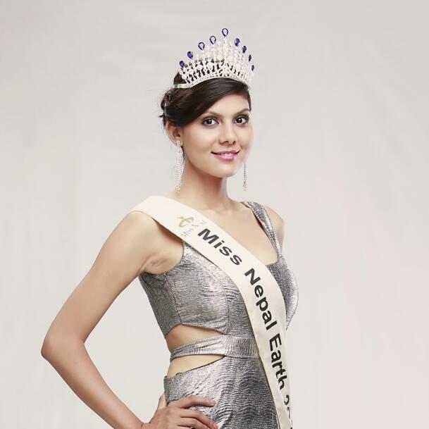 Miss Nepal Earth Rojisha Shahi Thakuri