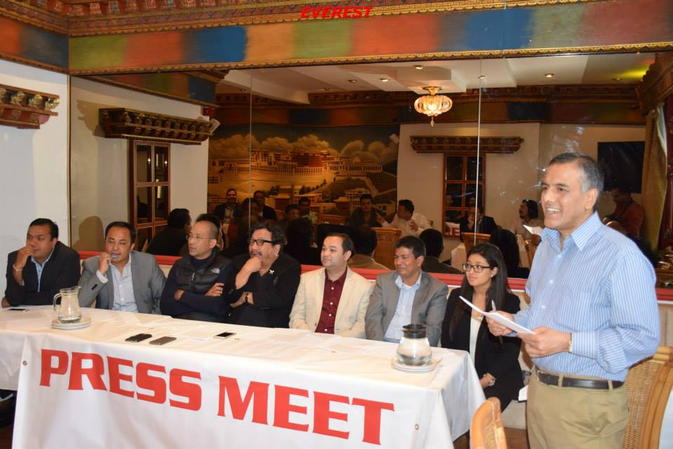 Press meet in London Photo: Everest Gautam