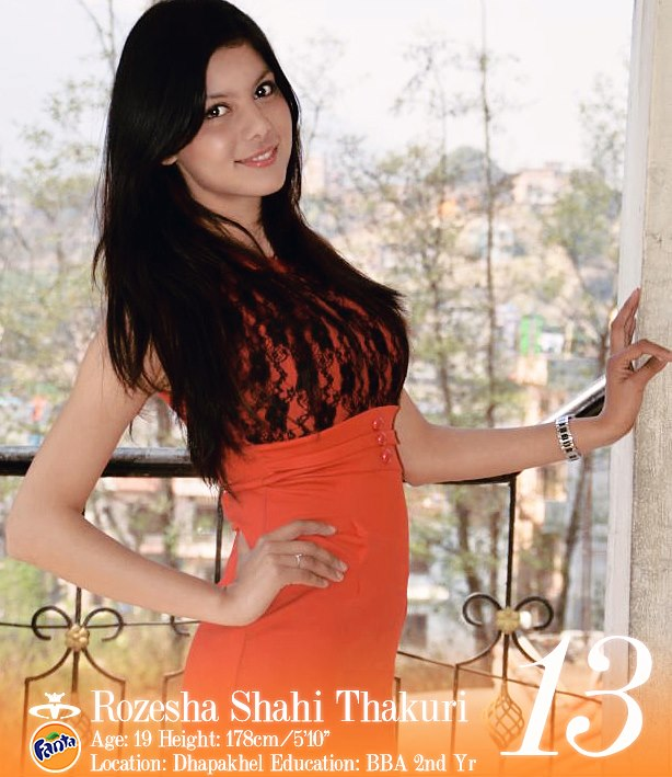 Rozesha Shahi Thakuri Miss Nepal 2013