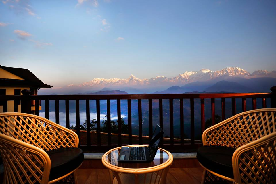 Rupakot-Resort-Mountain-View