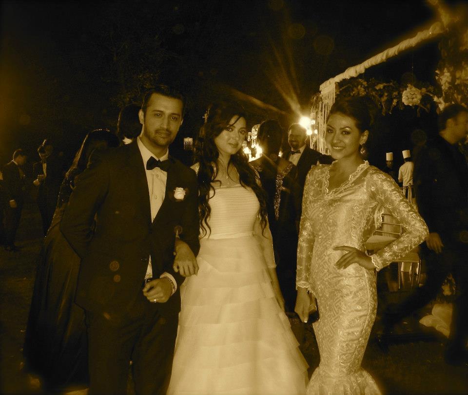 Sahana with Atif and Sara