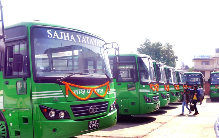 Sajha Yatayat Women Driver