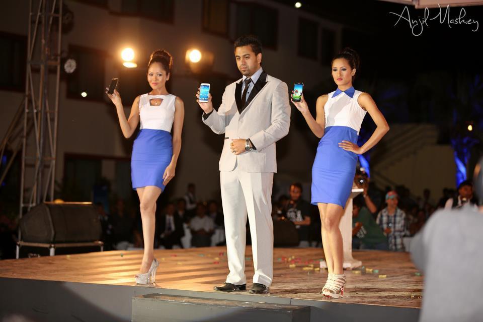 Samsung Galaxy S4 Nepal Launch