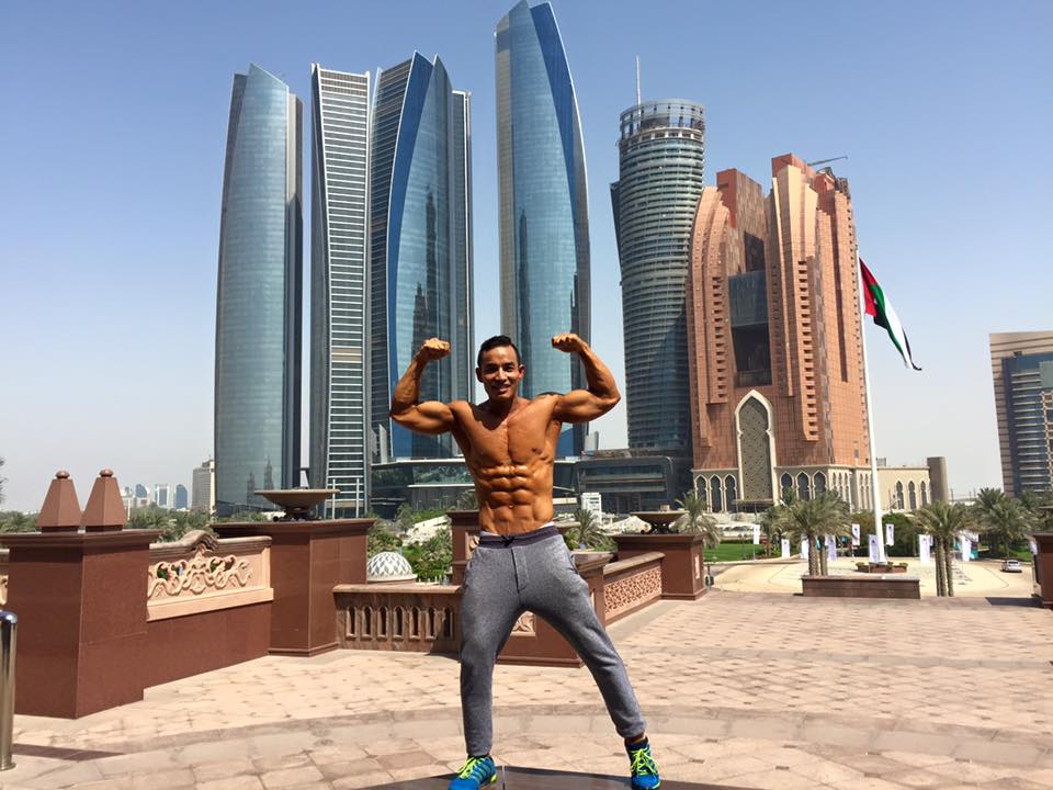 Downtime in Dubai for Santosh