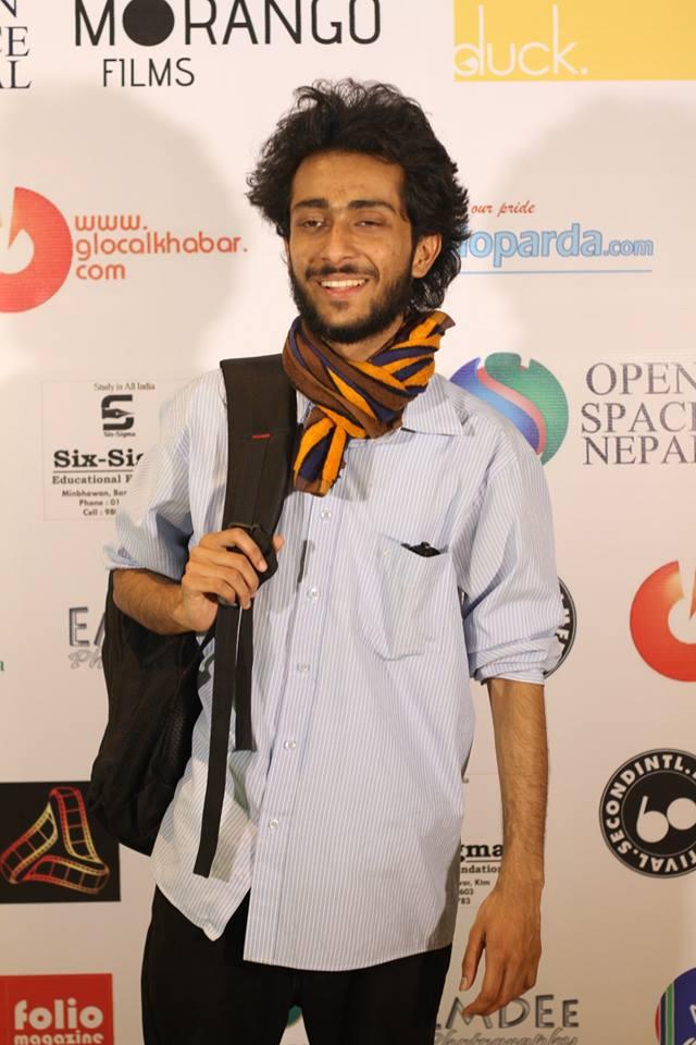 A powerful youth figure Saunak Bhatta