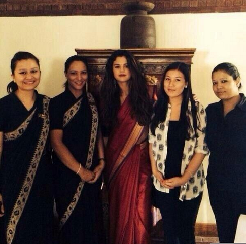 Selena-Gomez-Dwarikas-Hotel-Kathmandu
