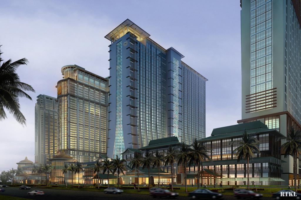 Sharaton Hotel in Macao