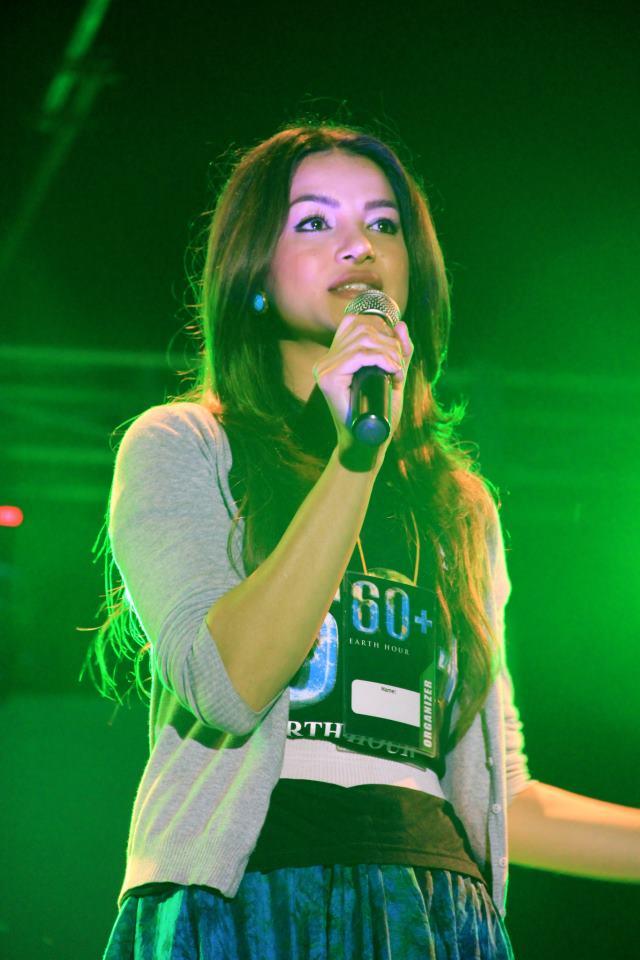 Taking centre stage, Shristi Shrestha