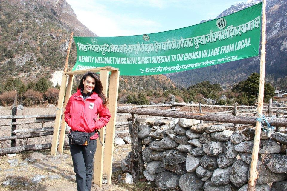 Ghunsa Village welcomed Shristi