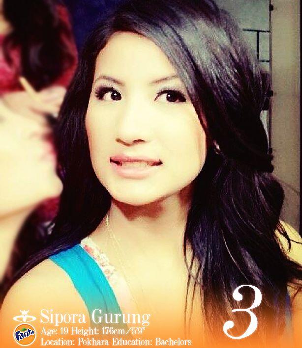 Sipora Gurung Miss Nepal 2013